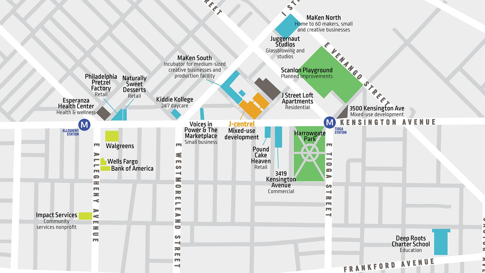 Kensington Avenue philadelphia development