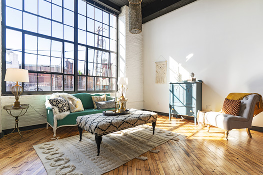 J-centel affordable loft industrial apartments Philadelphia